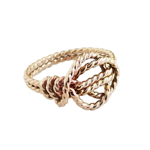 Love Knot Promise Ring