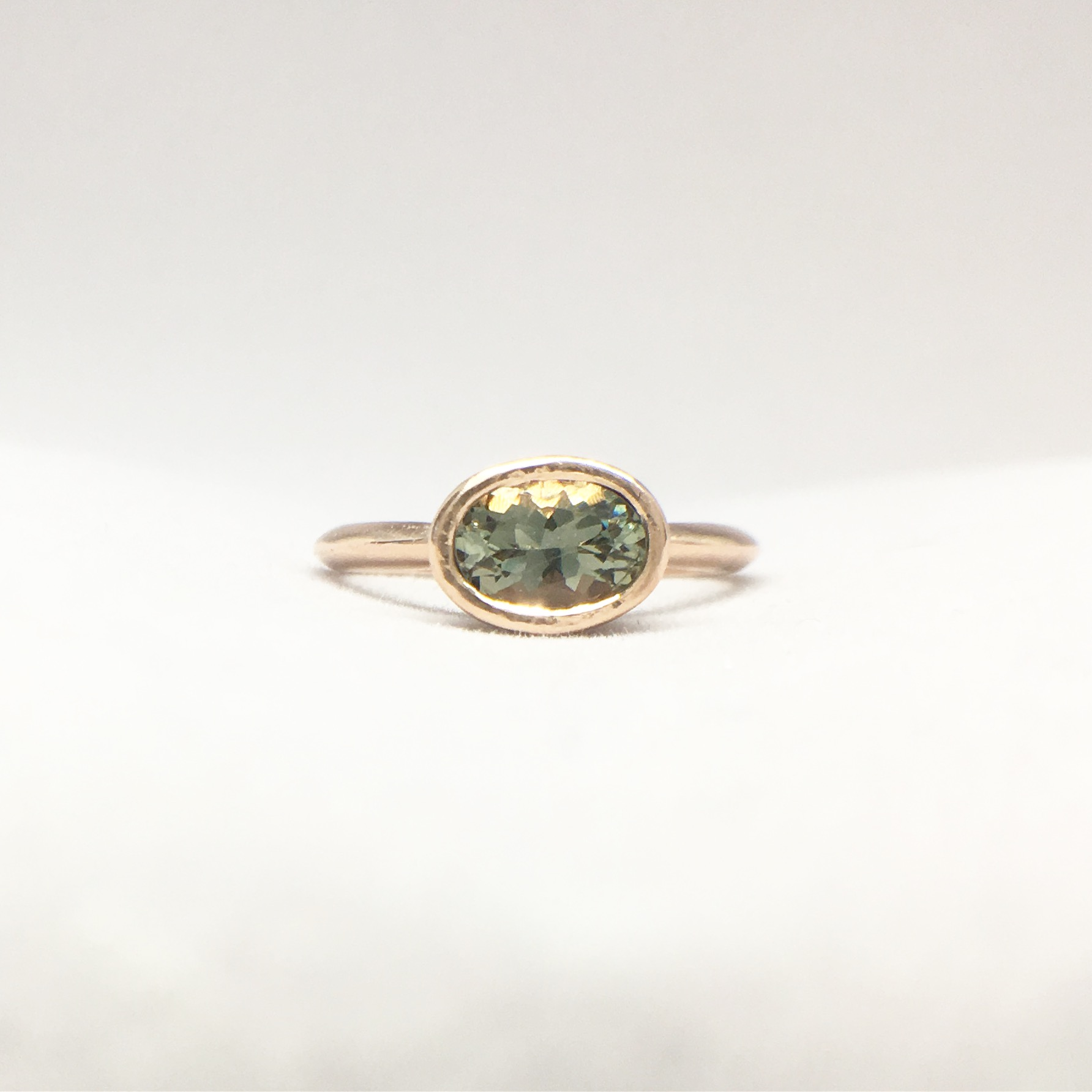 sun pink ring rose products engagement rings green desert nights sunstone stone tourmaline