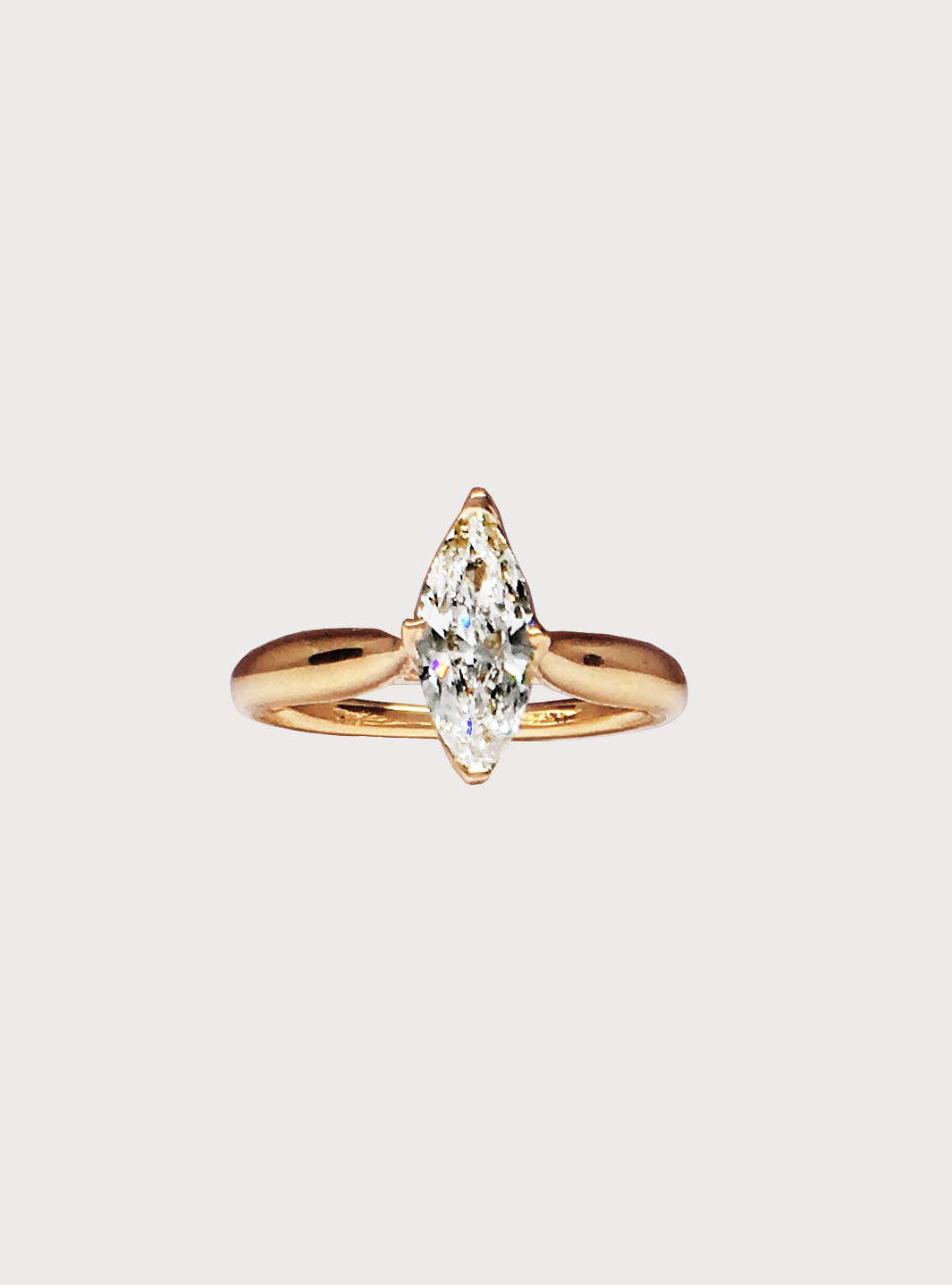 yellow solitaire hand rings engagement prong on recycled sophie tapered gold hughes claw ring diamond